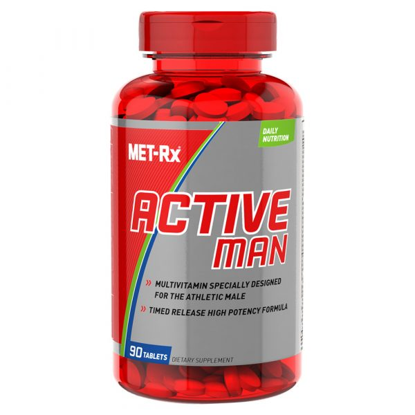 Met Rx Active Man Multivitamins