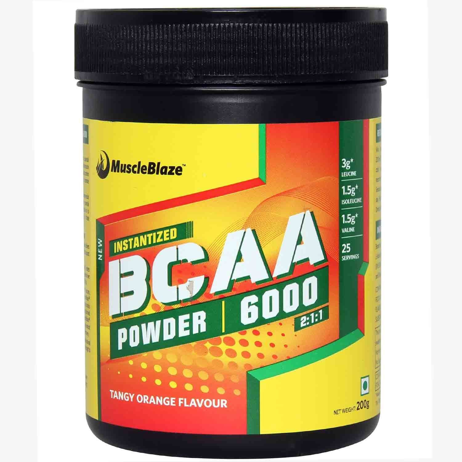 Buy Muscleblaze Bcaa 200g Tangy Orange Online In India At