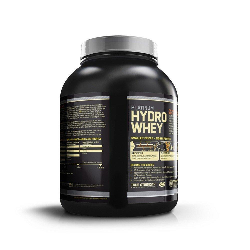 Compare Amp Buy Optimum Nutrition On Platinum Hydro Whey