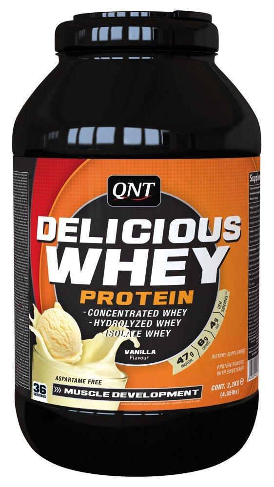 Compare Amp Buy Qnt Delicious Whey Protein Powder Vanilla 5