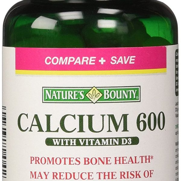 Nature's-Bounty-Calcium-600-with-Vit.-D3-60Tabs