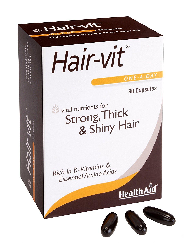 Compare & Buy Health Aid Hair-Vit Capsules -90 Capsules Online In India At Best Price   Healthgenie.in