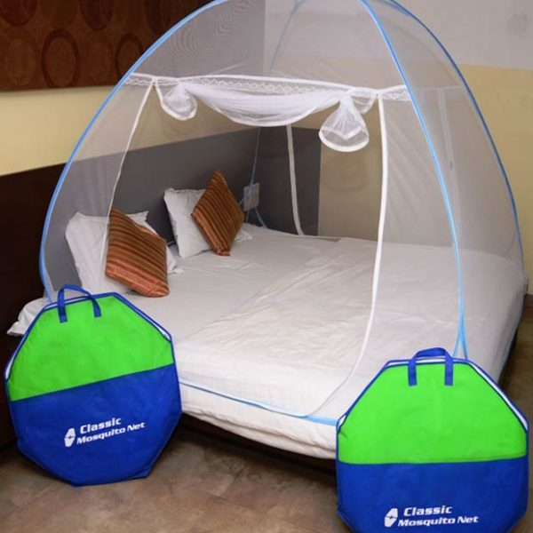 Classic-Mosquito-Net-Double-Bed-Blue