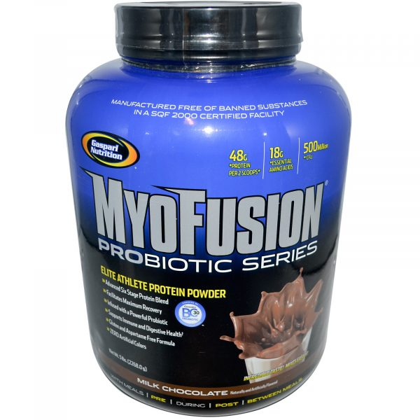 Gaspari Nutrition Myofusion Probiotic ,5lbs Chocolate