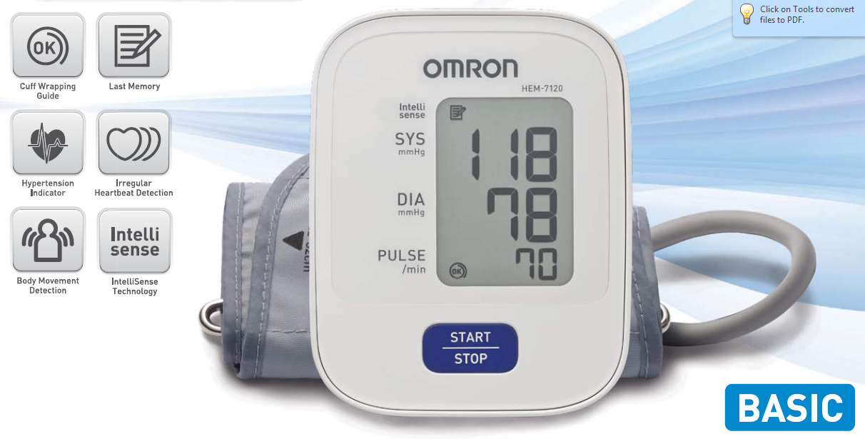 Compare Amp Buy Omron Bp Hem 7120 In Online In India At Best
