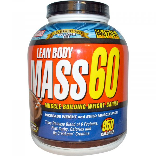 Labrada Lean Body Mass 60 Muscle Builder Chocolate 6 lb