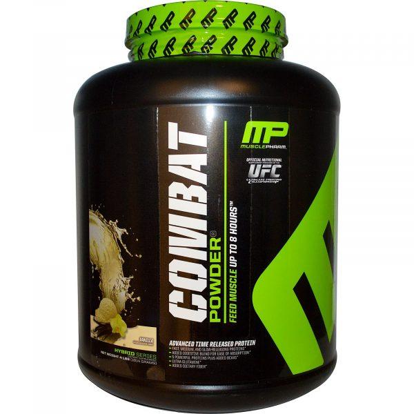 MusclePharm Combat Powder Vanilla 4 lb