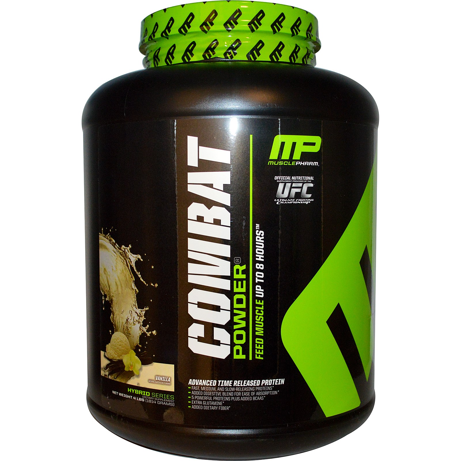 Compare & Buy MusclePharm Combat Powder -Vanilla-4 lb