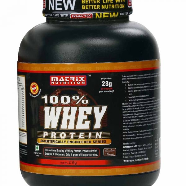 Matrix 100% Whey Protein Chocolate 2 KG