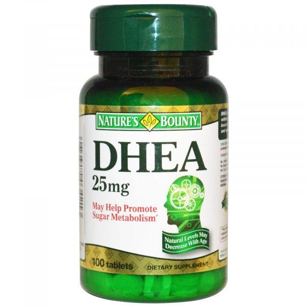 Nature's bounty DHEA 25 mg 100 Tablets