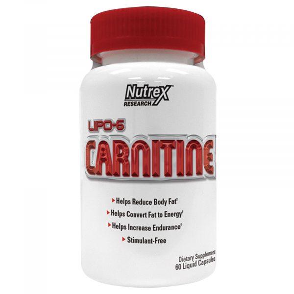 Nutrex Lipo 6 Carnitine 120caps