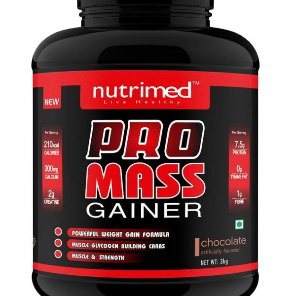 Nutrimed Pro Mass Gainer 3kg Chocolate