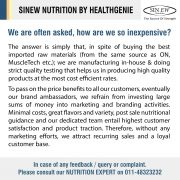 Sinew Nutrition By Healthgenie Inexpensive