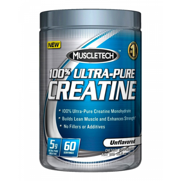 Muscletech 100% Ultra pure Creatine Unflavored 300 g