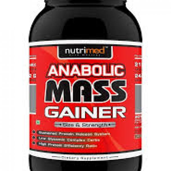 Nutrimed Anabolic Mass Gainer Chocolate 1 Kg