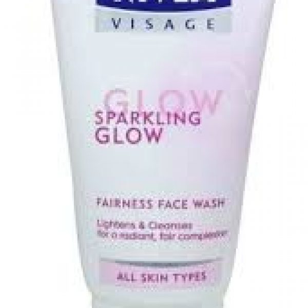 Nivea Visage Sparkling Glow Fairness Oil Control Face Wash 50g