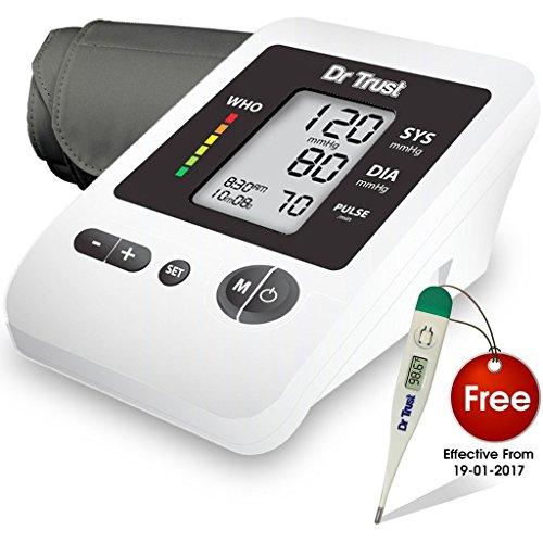 Compare Amp Buy Dr Trust Blood Pressure Monitor Silver Line