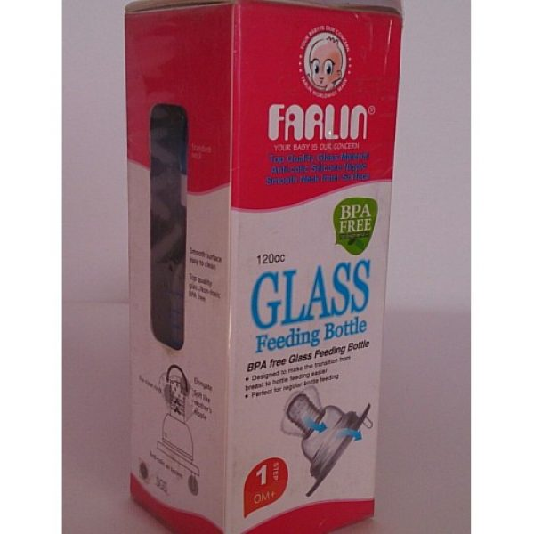 Farlin-Glass-Feeding-Bottle