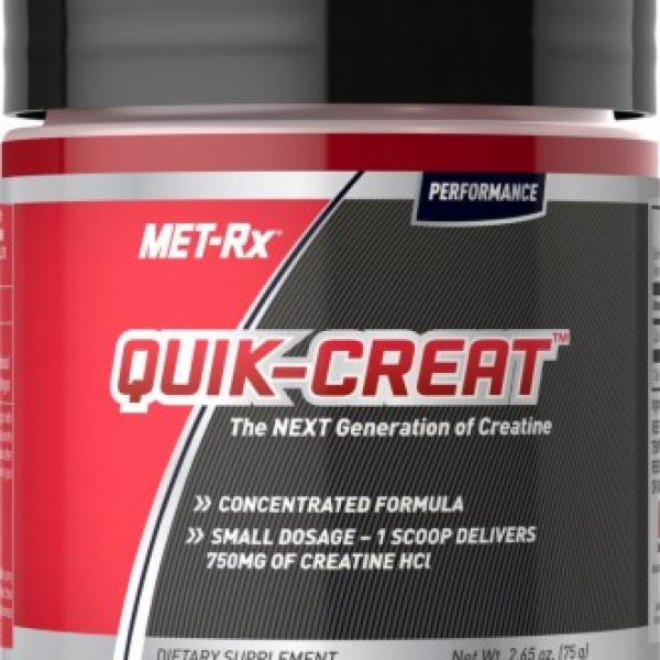 Met Rx – Quick Creat Concentrated Creatine HCl Powder – 75g