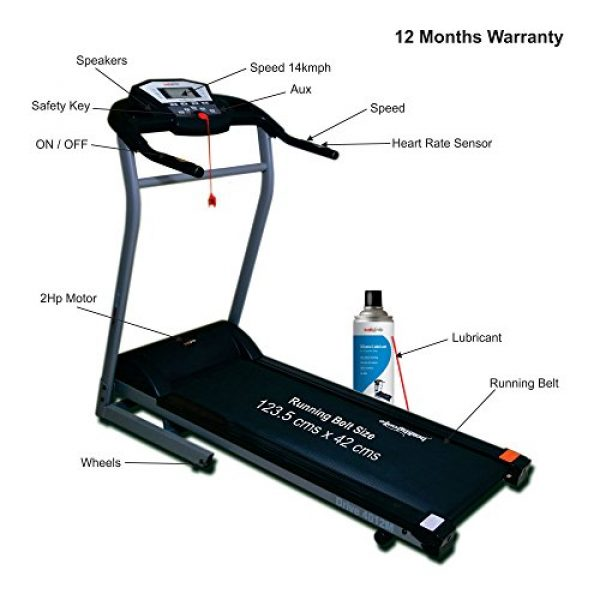 Compare & Buy Healthgenie Drive 4012M Motorized Treadmill
