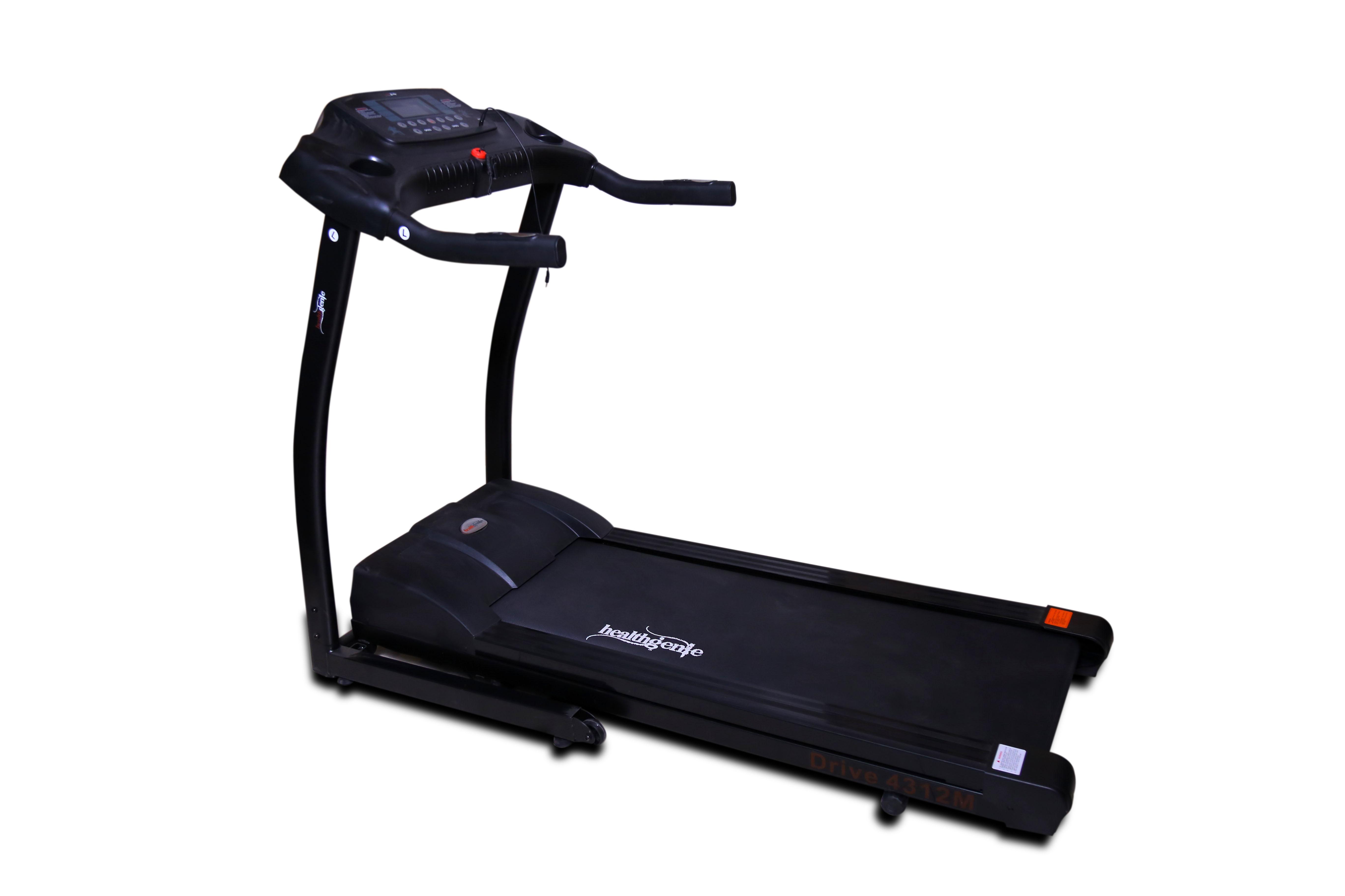Compare Amp Buy Healthgenie Drive 4312m Treadmill Online In