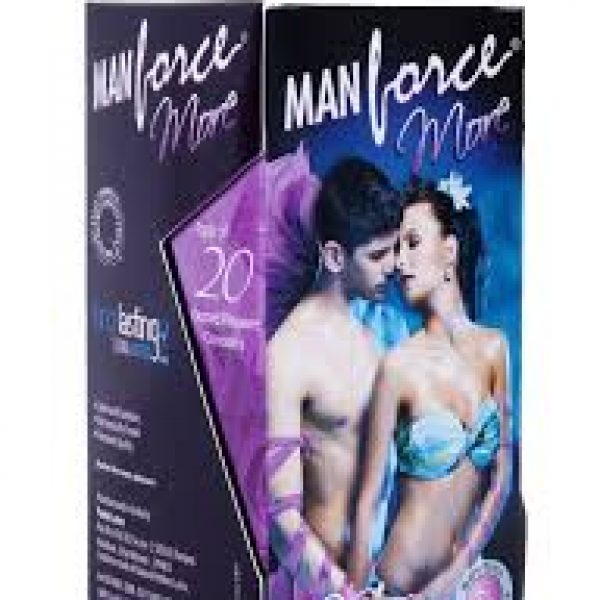 Manforce More Dotted Condom 20s
