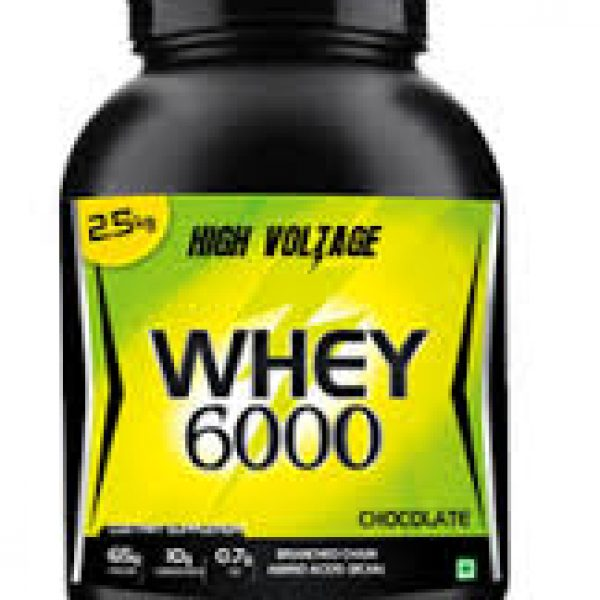 Kiwi Nutritech High Voltage Whey 6000 Chocolate 1 Kg