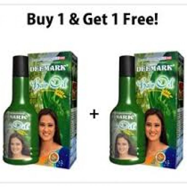 Deemark-Herbal-Hair-Oil-One-+-One-Pack