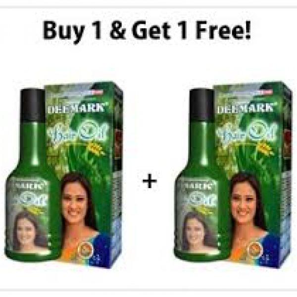Deemark-Herbal-Hair-Oil-One-+-One-Pack