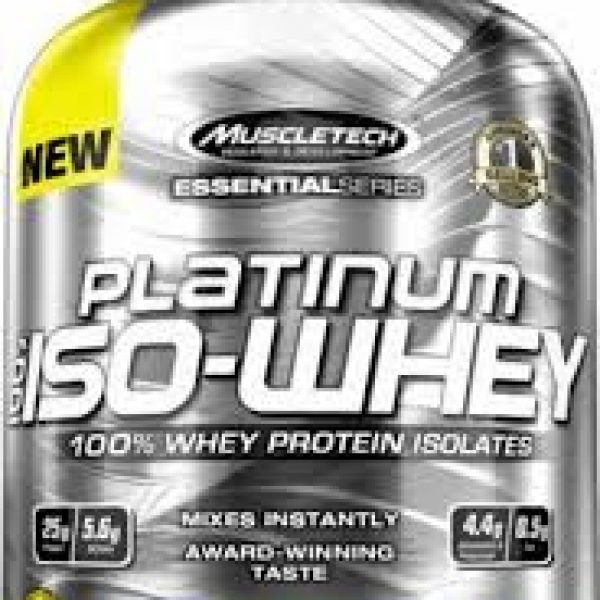 Muscletech Platinum ISO 100% Whey Protein