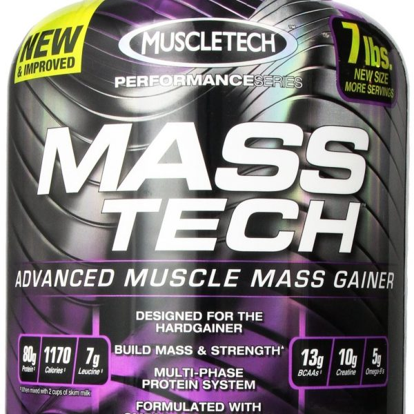 Muscletsch Mass Tech Mass Gainer Strawberry