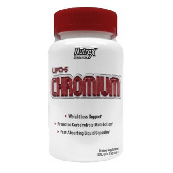Nutrex Lipo 6 Chromium 100Caps