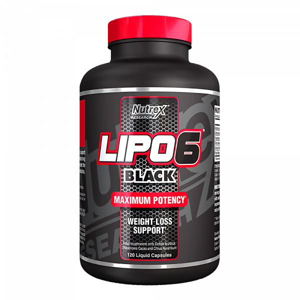 Nutrex Lipo 6 Black 120Caps
