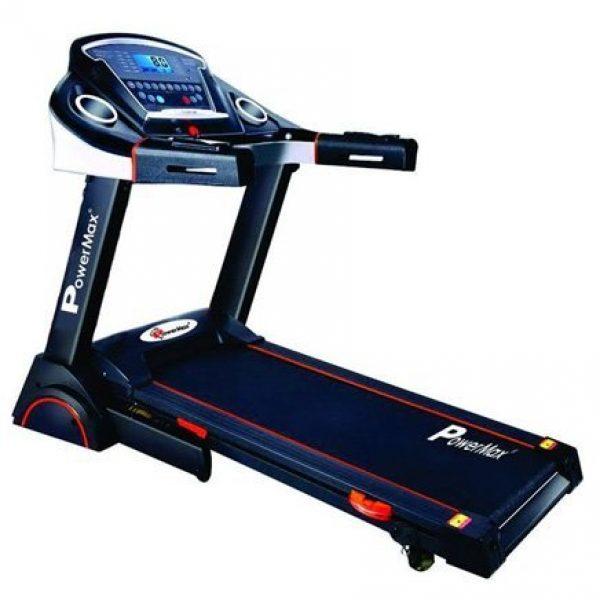 Compare buy powermax fitness tda 230 2hp 4hp peak for Best non motorized treadmill