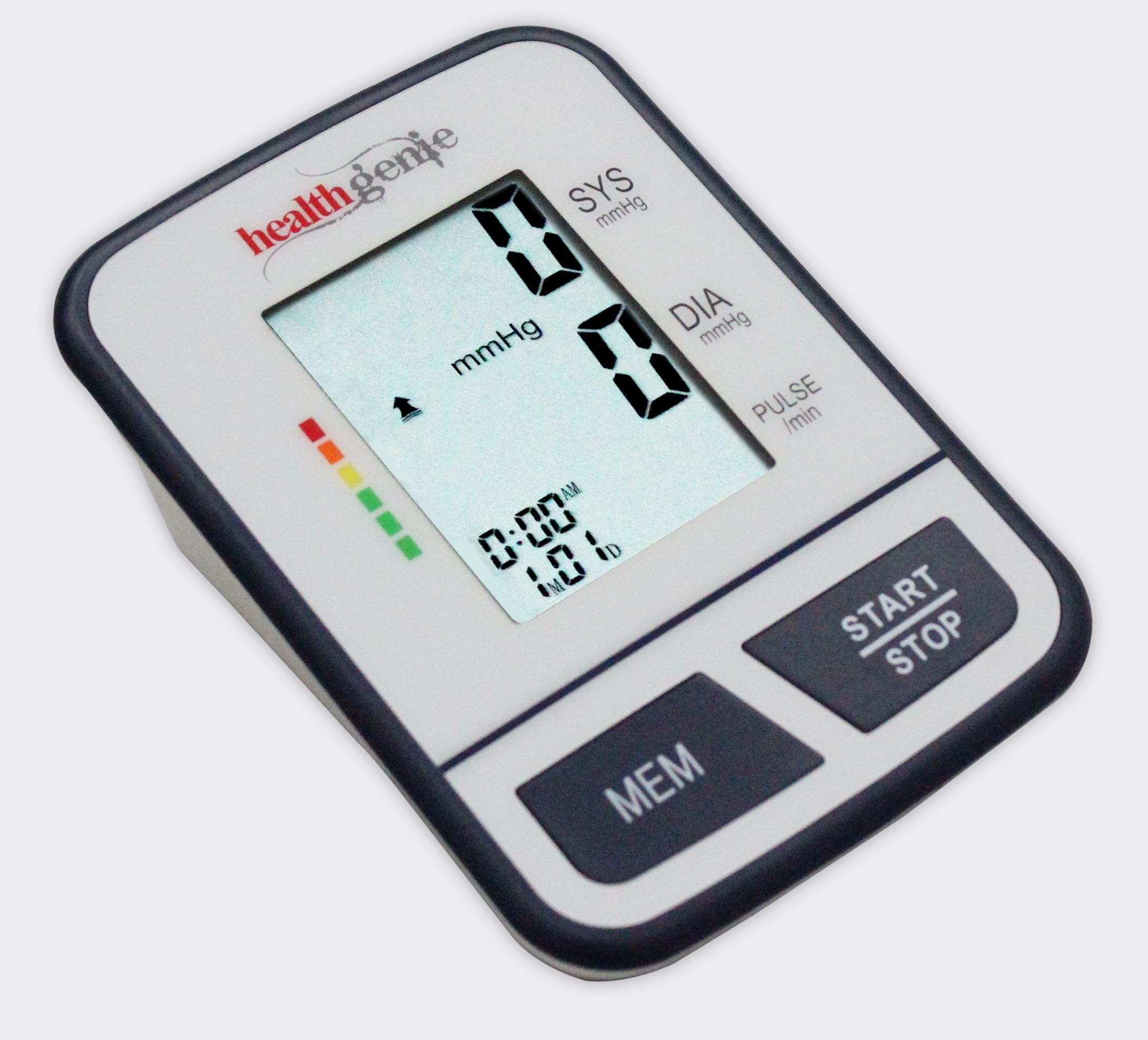Compare Amp Buy Healthgenie Bp Monitor Digital Upper Arm