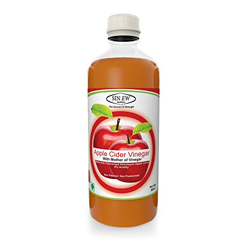 Compare & Buy Sinew Nutrition Raw Apple Cider Vinegar with Mother 500ml  (Unfiltered & Unpasteurised) Online In India At Best Price | Healthgenie in