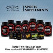 Sinew Sports Supplement Range
