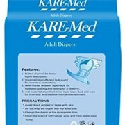 Kare Med Adult Diapers - Pack of 10 (76cm - 114cm)