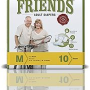 Friends-Adult-Diaper-Easy-Medium-Pack of 3