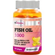 St.Botanica-Fish-Oil-1000-mg-Double-Strength-with-600-mg-Omega-3-60-Softgels-330mg-EPA,-220mg-DHA