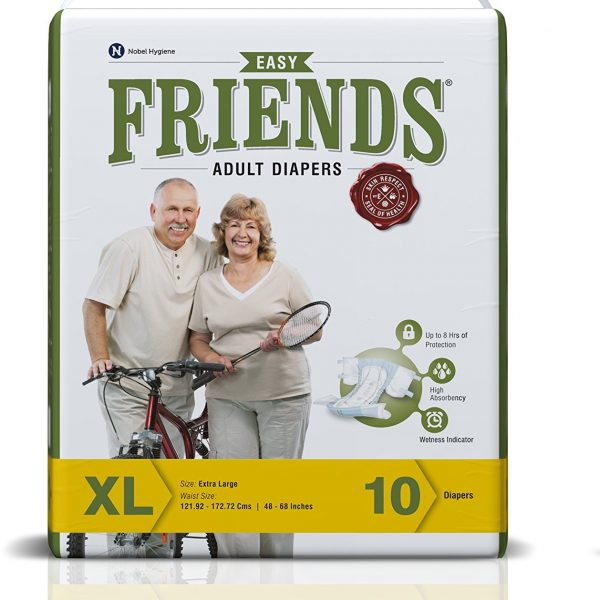 Friends-Adult-Diaper-Basic-Extra-Large-10-Count
