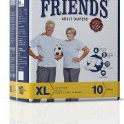 Friends-Adult-Diaper-Premium-Extra-Large-10-Count