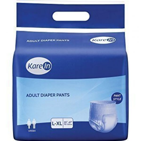"Kare-In-Adult-Pull-ups-Pant-Style-Underwear-10's-Pack-Large-Size-90-120cm-35""-47"""
