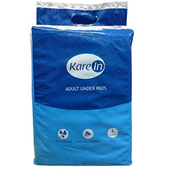 Kare-In-Adult-Underpads-10's-Size-60x90cm