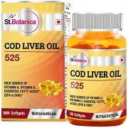 St.Botanica-COD-Liver-Oil 525 -90-Softgels