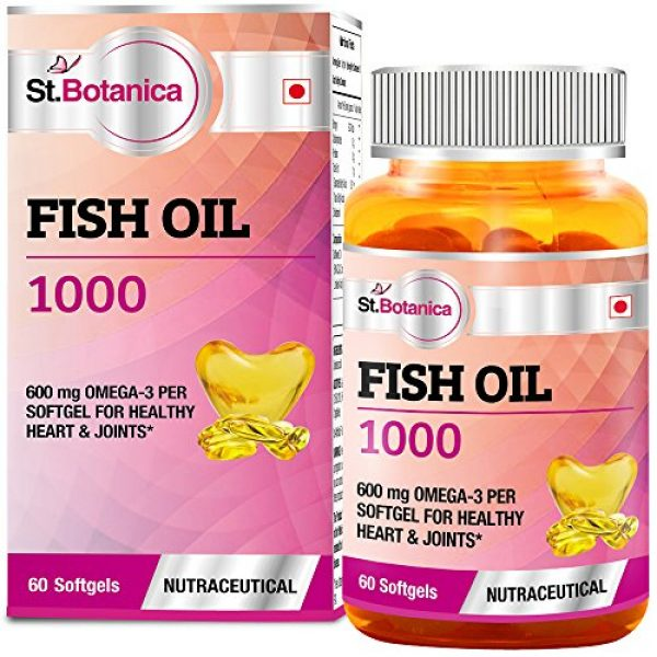 St.Botanica-Fish-Oil-1000-mg-Double-Strength-with-600-mg-Omega-3-60-Softgels-330mg-EPA-220mg-DHA