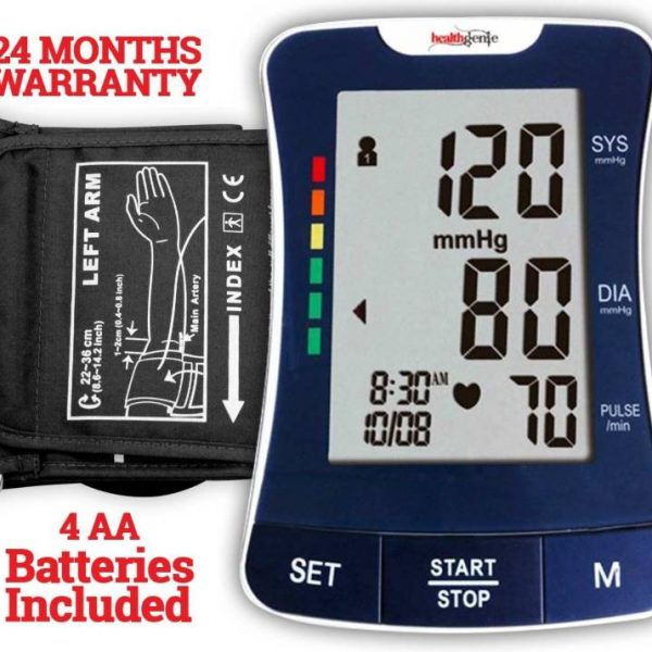 Healthgenie Bpm 03 Fully Automatic Blood Pressure Monitor With Original Imaeq73dar8dzygb