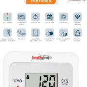 Healthgenie Digital Upper Arm Blood Pressure Monitor Bpm02 Fully Original Imaewqrtkvp7ezd2