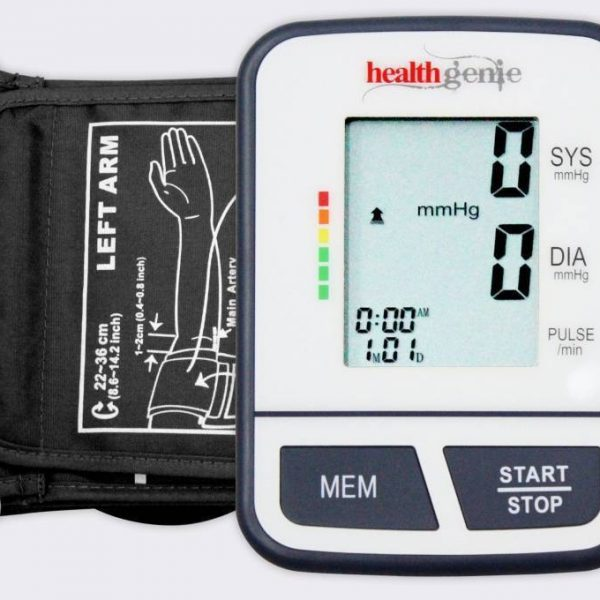 Healthgenie Digital Upper Arm Blood Pressure Monitor Fully Original Imaeqbh6wg3xnyyn