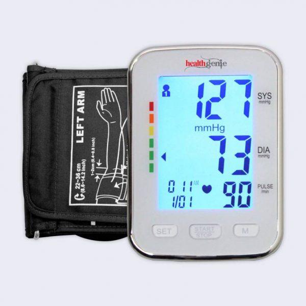 Healthgenie Digital Upper Arm Blood Pressure Monitor Fully Original Imaeqckrvvt5zez5